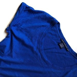 Ralph Lauren Sport Blue Cotton Tee S